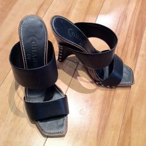 Chanel mules/sandals